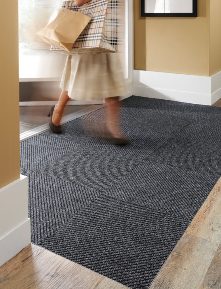 Diagonal Tile commercial matting